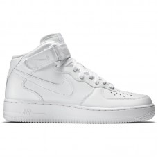 Nike Air Force 1 Mid 07 All White
