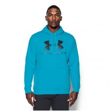 Under Armour Rival Fitted Graphic džemperis