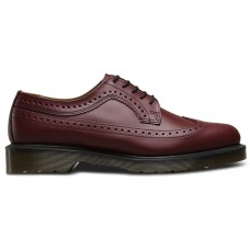 Dr.Martens 3989 Cherry Red Smooth Brogues - Laisvalaikio batai