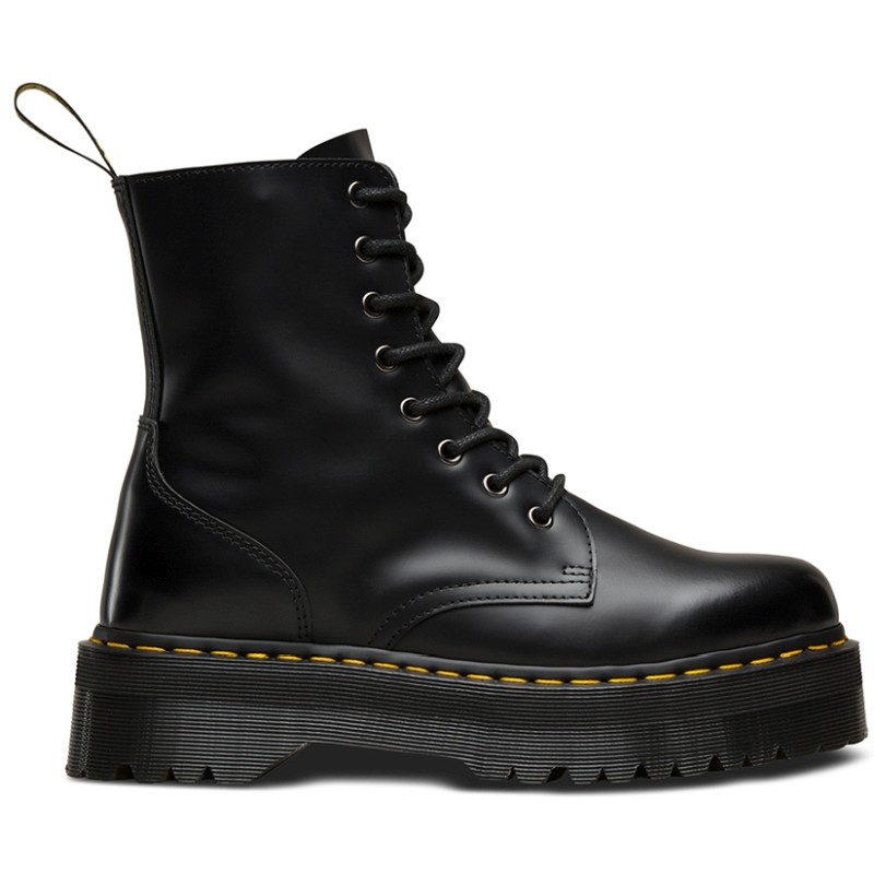 Dr.Martens Jadon Black Polished Smooth - Žieminiai batai