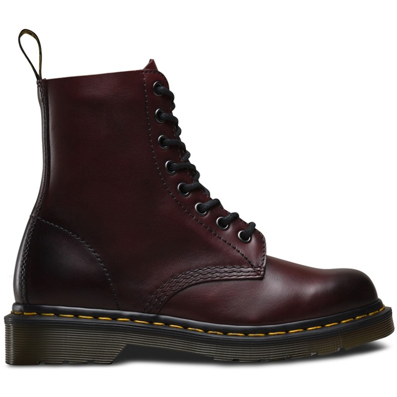 Dr. Martens 1460 Pascal Antique Temperley Cherry Red - Žieminiai batai