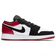 Air Jordan 1 Low GS Black Toe - Laisvalaikio batai