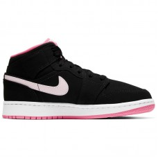 Air Jordan 1 GS Mid Black Pink