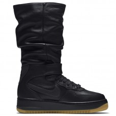 Nike WMNS Air Force 1 Upstep Warrior Black - Laisvalaikio batai