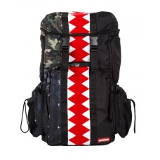 Sprayground Vertical Camo Shark Gradient kuprinė
