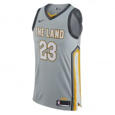 Nike NBA Cleveland Cavaliers LeBron James City Edition Authentic marškinėliai