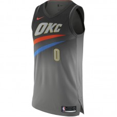 Nike NBA Oklahoma City Thunder Russell Westbrook City Edition Authentic marškinėliai