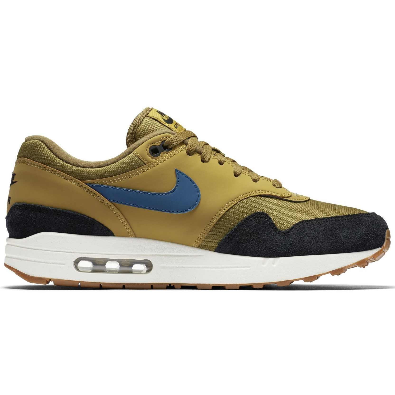Nike Air Max 1 Golden Moss Blue Force - Nike Air Max batai