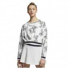 Nike Wmns Court Dri-FIT Long Sleeve Tennis džemperis - Džemperiai