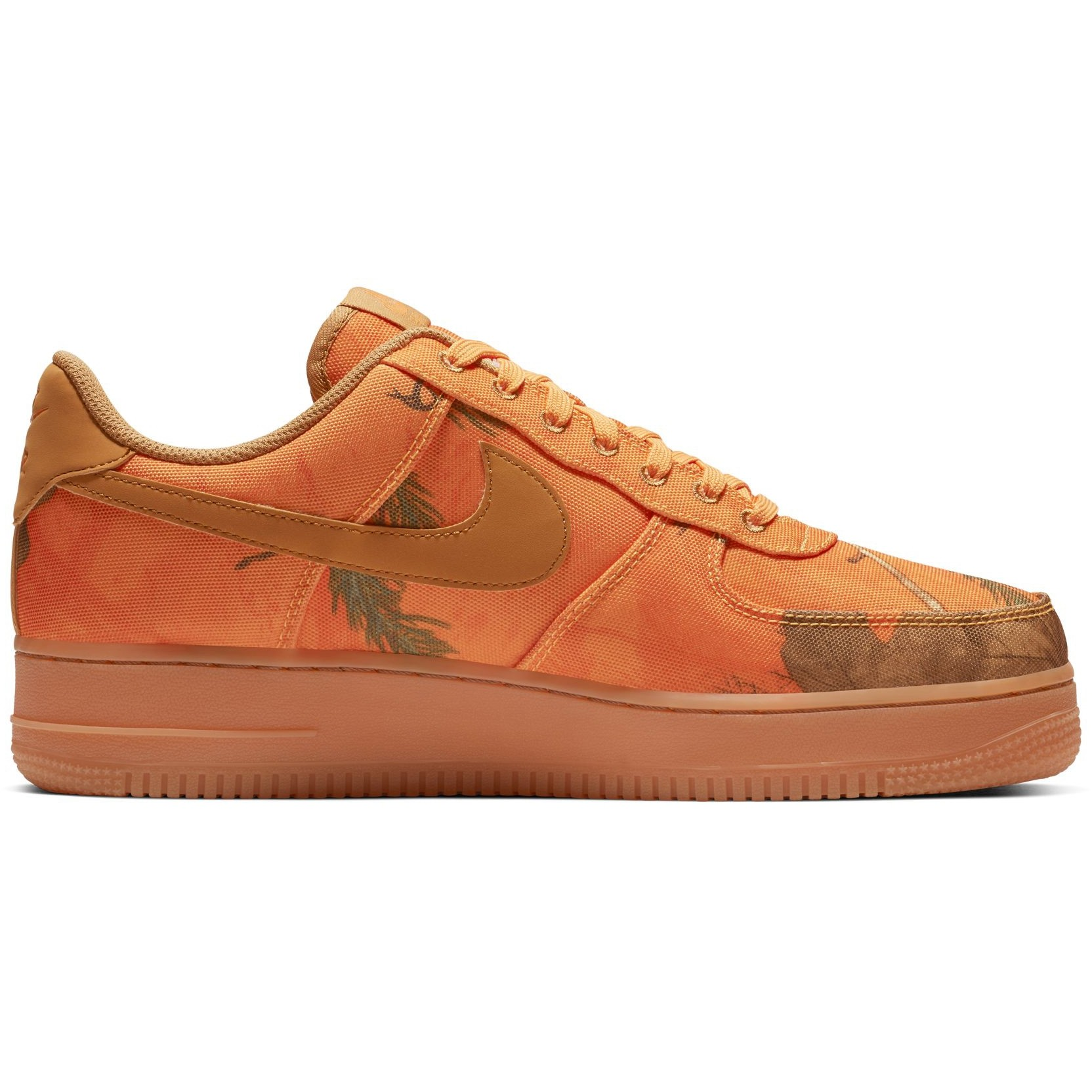 Nike Air Force 1 07 Lv8 Realtree Camp Orange Camo - Laisvalaikio batai