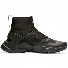 Nike Huarache Gripp Triple Black GS