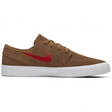 Nike SB Zoom Janoski Low RM British Tan Mystic Red White - Laisvalaikio batai