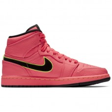 Air Jordan Wmns 1 High Premium Hot Punch