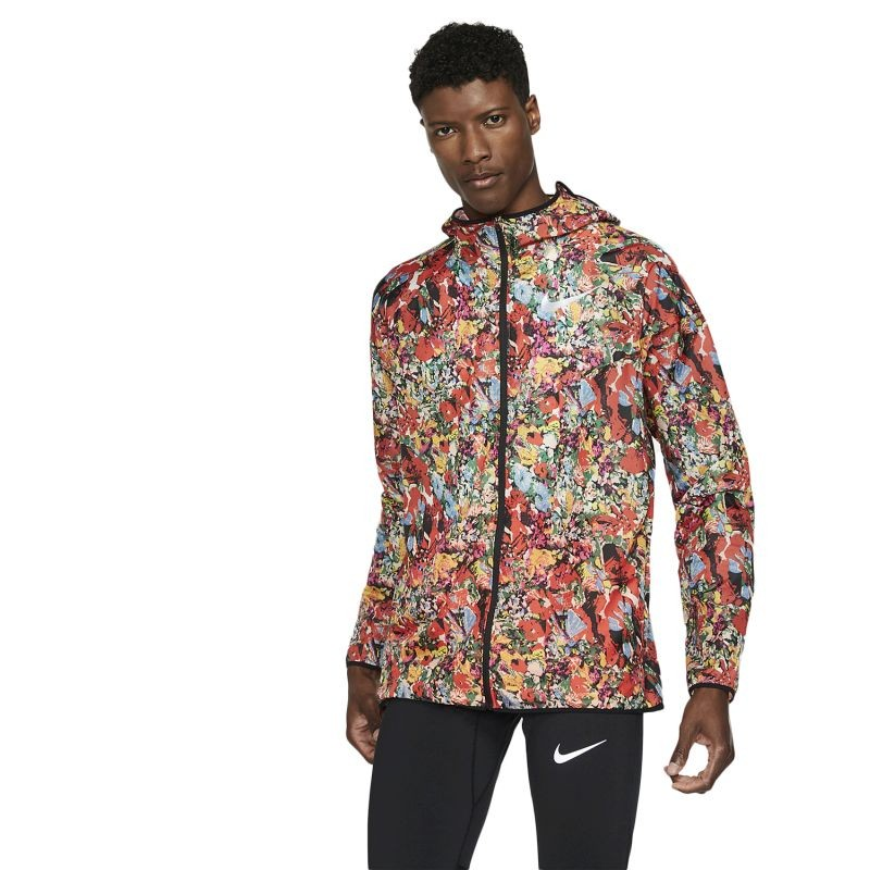 Nike Windrunner Printed Running Jacket - Striukės