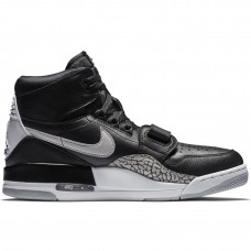 Air Jordan Legacy 312 Black White Black Cement