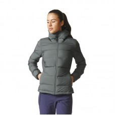 adidas WMNS Helionic Down Hooded striukė