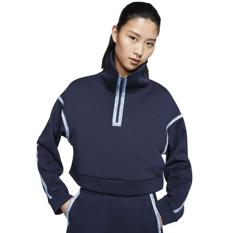 Nike Wmns Tech Pack 1/4-Zip Fleece Training Pullover džemperis - Džemperiai