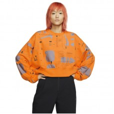 Nike Wmns Air Printed Fleece Crew džemperis - Džemperiai