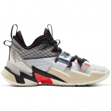 Air Jordan Why Not Zer0.3 GS Russell Westbrook White Bright Crimson Black - Krepšinio bateliai
