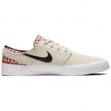 Nike SB Zoom Janoski Low RM PRM Pale Ivory Mystic Red