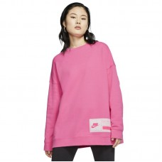 Nike Wmns NSW Fleece Crew Oversize - Džemperiai