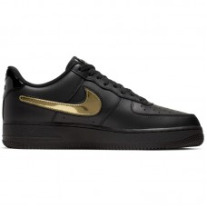 Nike Air Force 1 07' LV8 3 Black Removable Swoosh