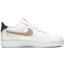 Nike Air Force 1 07' LV8 3 White Removable Swoosh - Laisvalaikio batai
