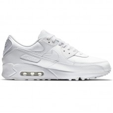 Nike Air Max 90 Leather Triple White - Nike Air Max batai