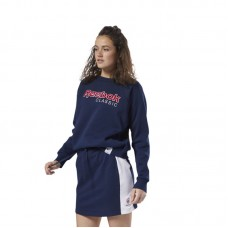Reebok Wmns Classics Big Logo Fleece Crew džemperis - Džemperiai