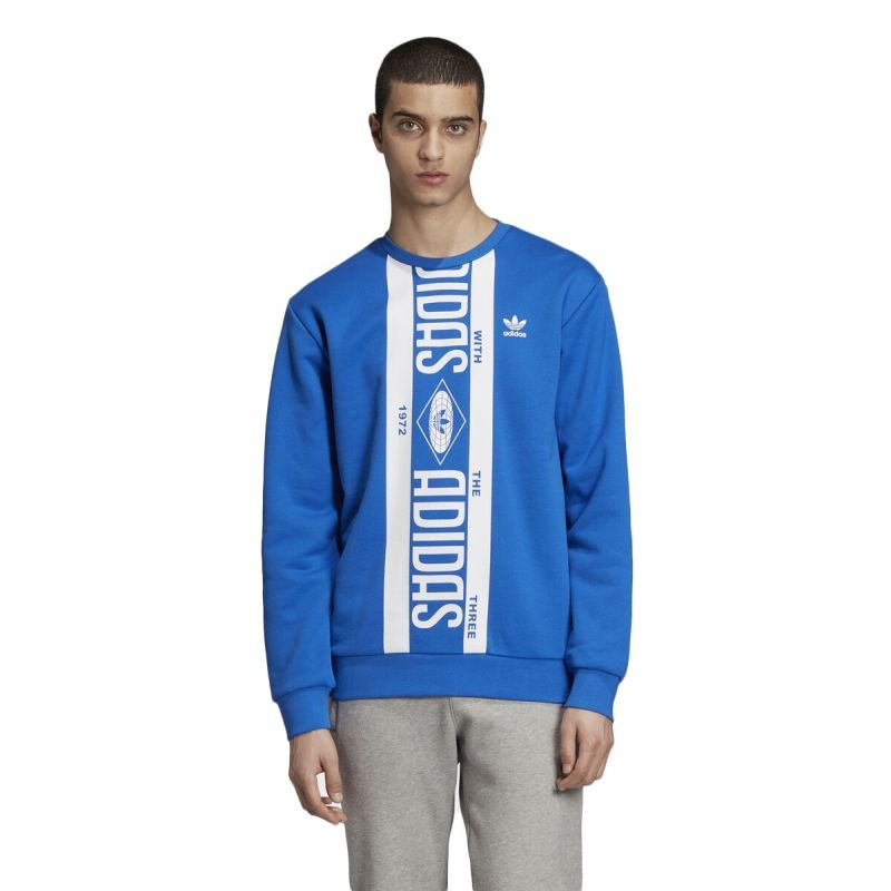 adidas Originals Printed Scarf Crewneck džemperis - Džemperiai