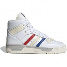 adidas Originals Rivalry Hi Tri-colore Cloud White Cream White