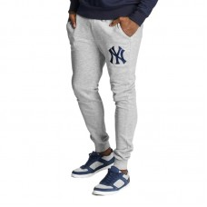 Majestic MLB New York Yankees Platt Slim Loopback Jogger kelnės - Kelnės