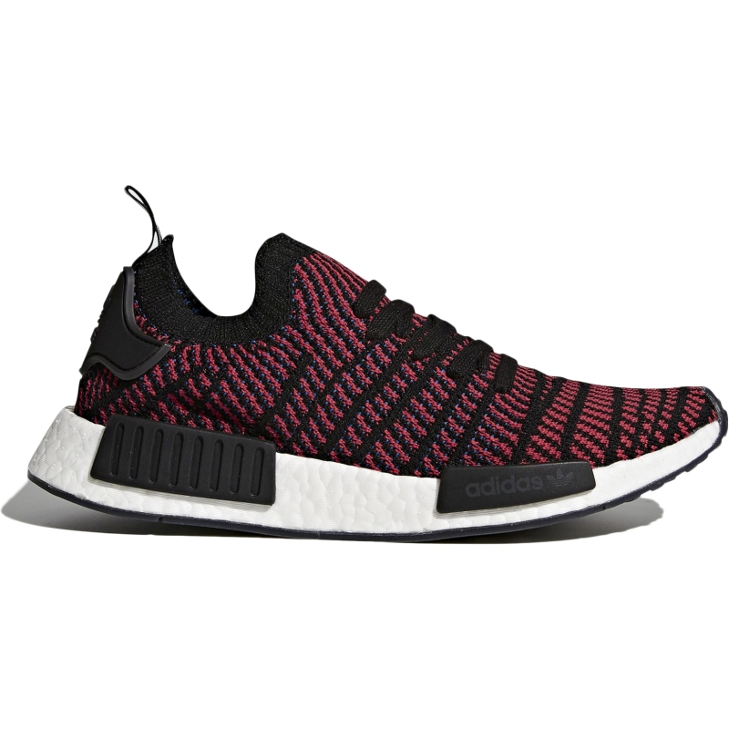 29aed0f1af5a Details about adidas Originals NMD R1 STLT Primeknit Men Casual Shoes  Sneaker Red Black CQ2385